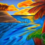 Palm Island Sunrise