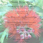 Text Print:  Hawaiian Marriage Blessing